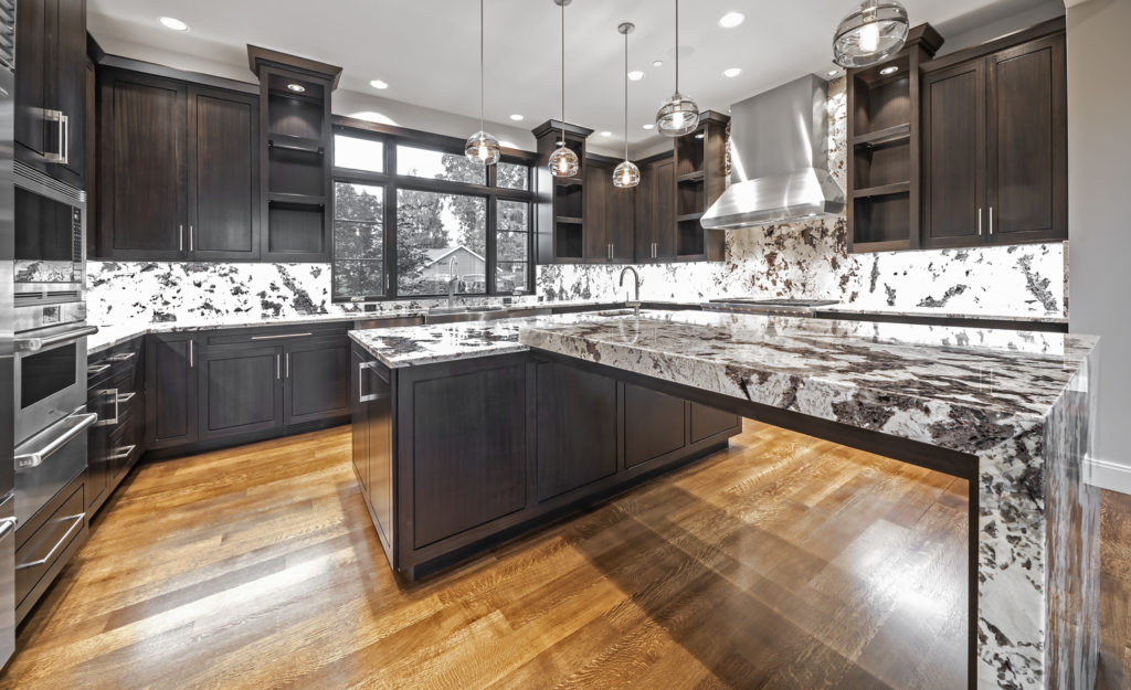 Medina Heights Custom Home Luxury Kitchen