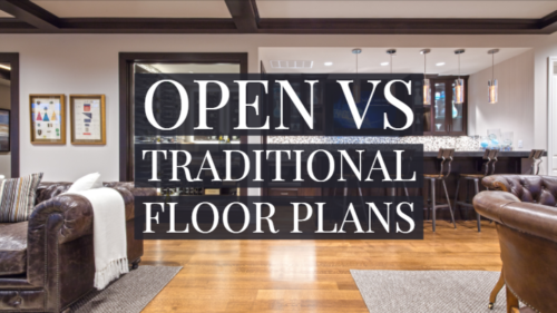 open floor plan vs traditional floor plan